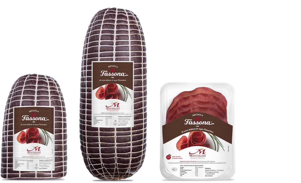 La Fassona Bresaola - Packaging