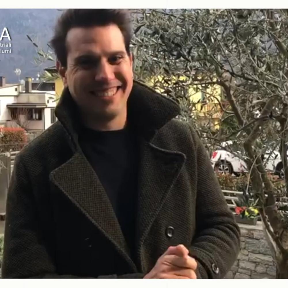 Lorenzo Mottolini, presidente del Gruppo giovani imprenditori di Assica