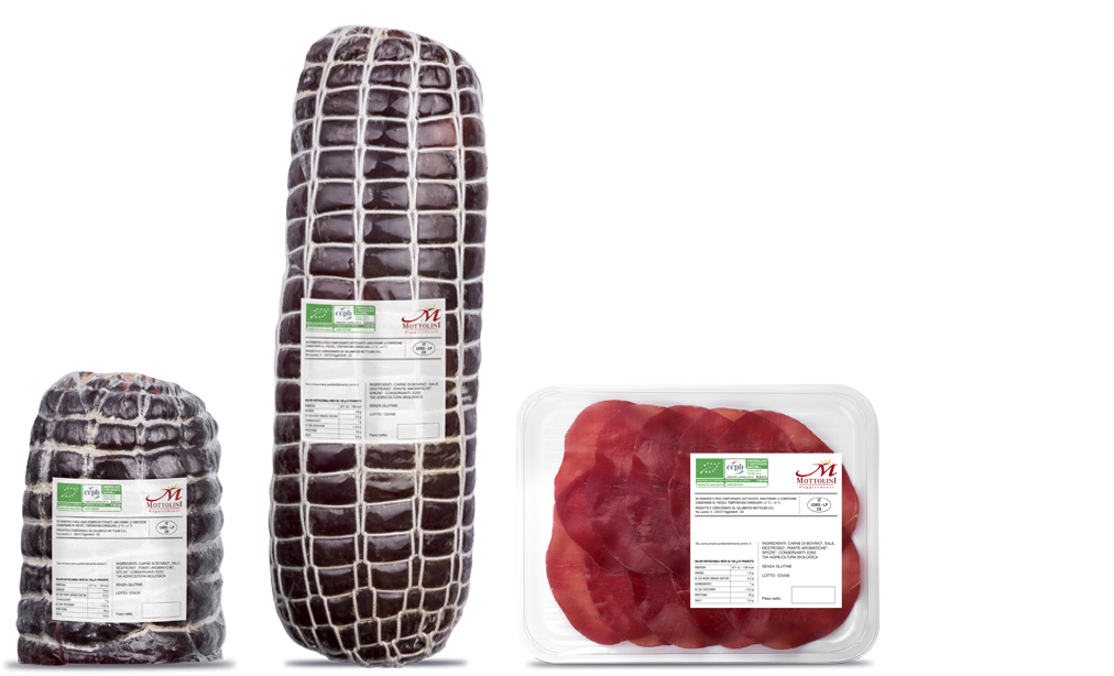 Organic Bresaola - Packaging