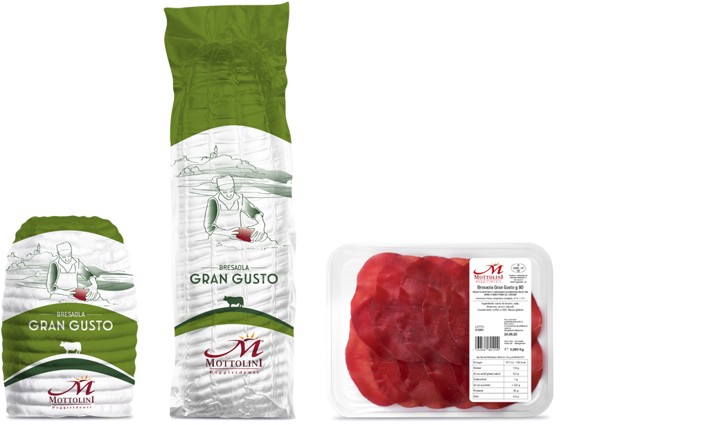 Gran Gusto Bresaola - Packaging